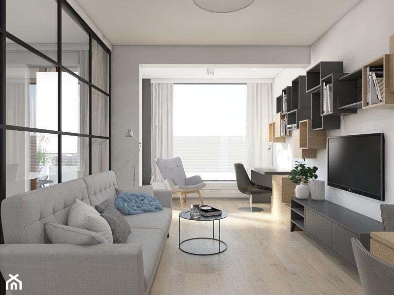 Sypialnia W Salonie Projekt Wnetrza Mieszkalnego Utoo Pracownia