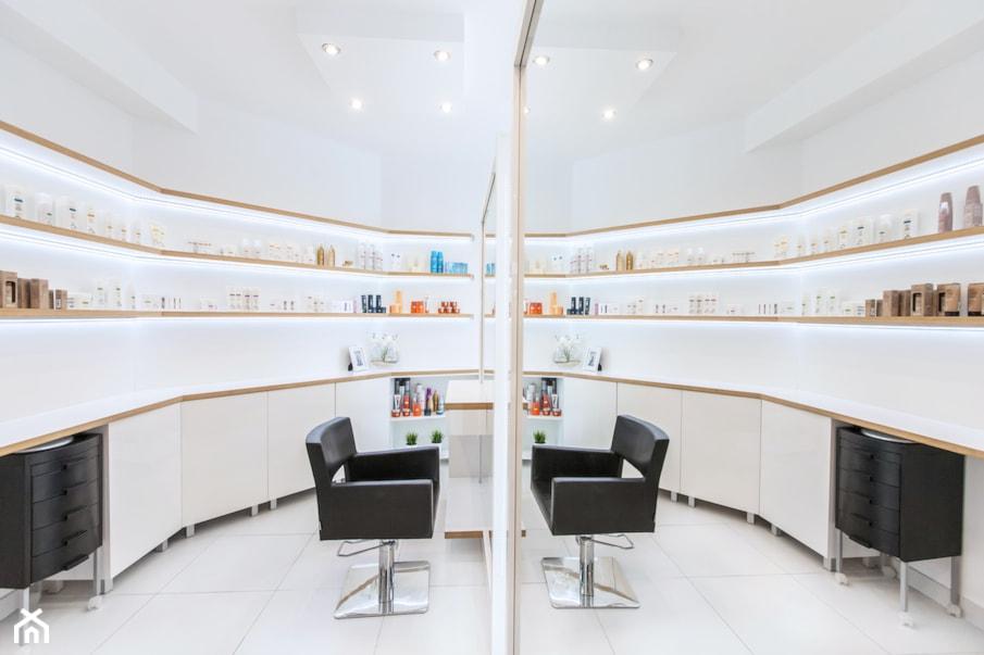 Salon Fryzjerski Projekt Wnętrza Publicznego Musk Collective Design