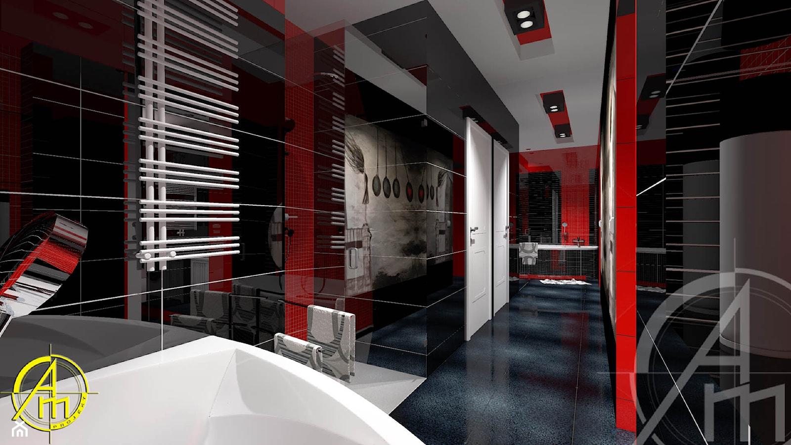 Projekt łazienki Tarnowskie Góry Projekt Wnętrza